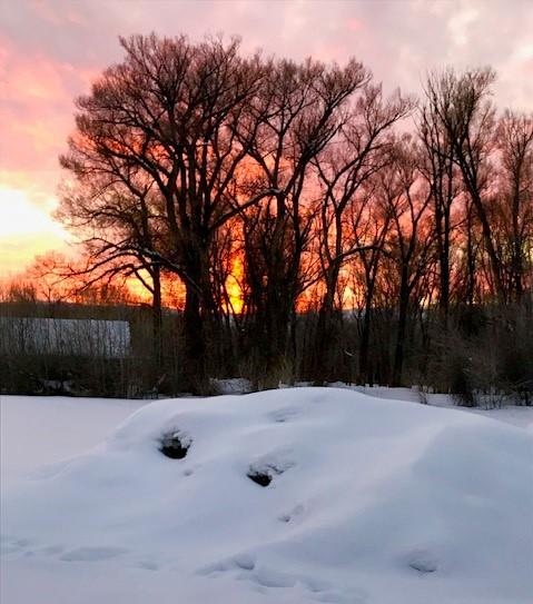 sunset riverwalk 0219