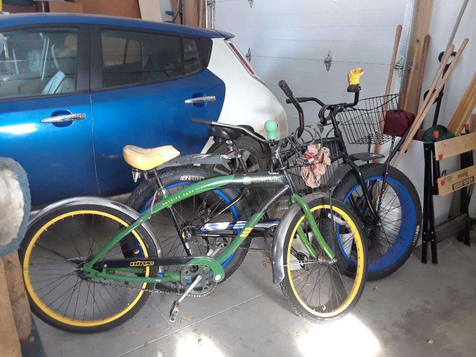garaged bikes 0220
