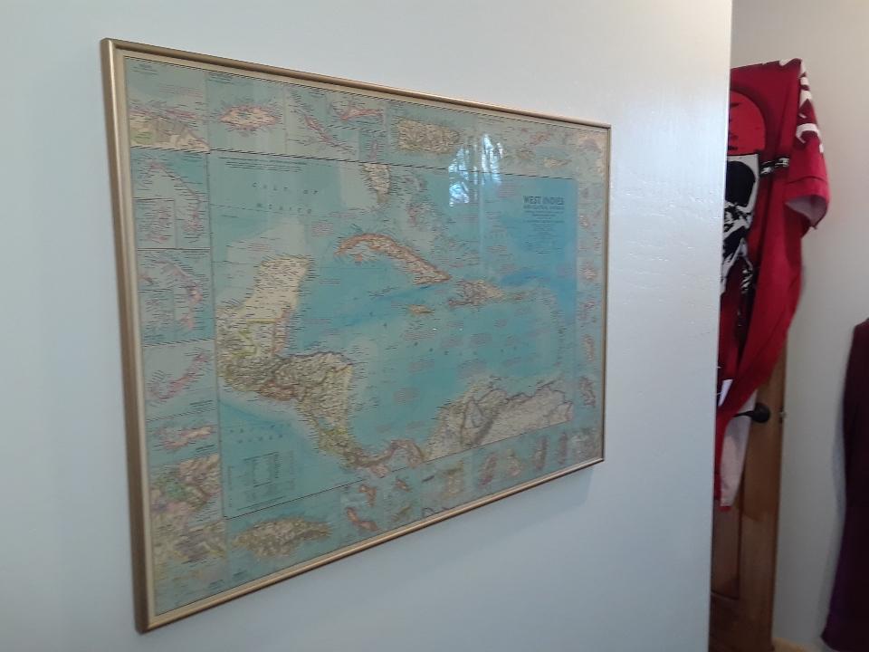 caribbean map 0420
