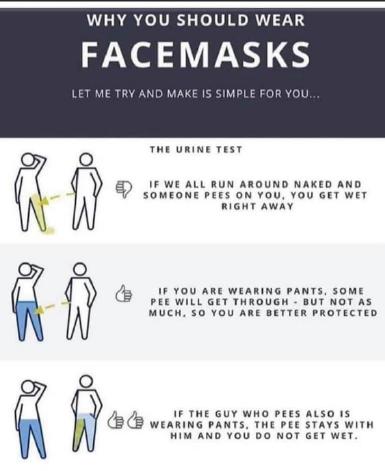 wear facemasks 0420