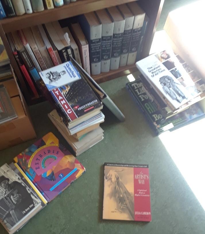 books on floor 0520