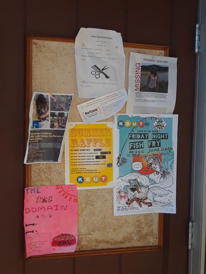 bulletin board 0620