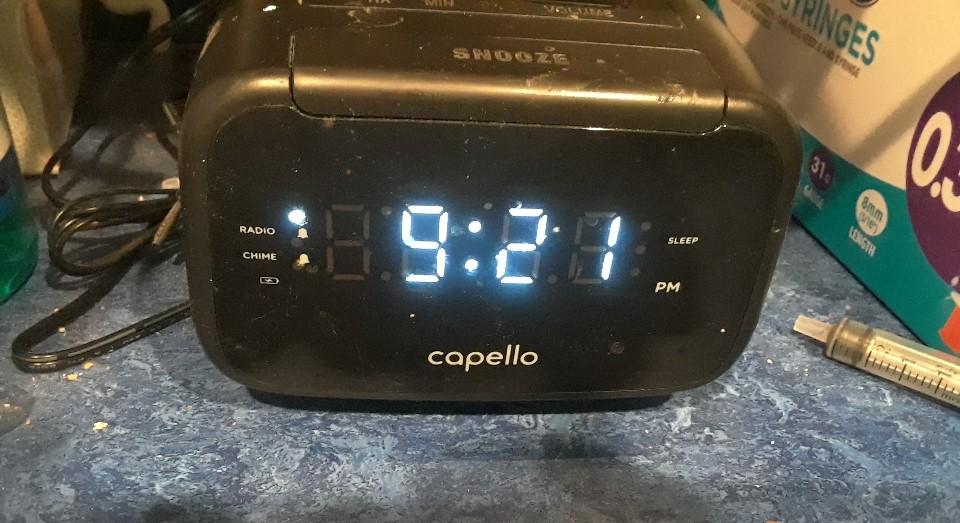 alarm clock 0720